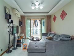 景和园 2室2厅1厨1卫 73.82m² 精致装修二手房效果图