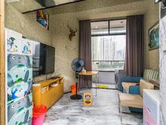 怡泰大厦 1室1厅1厨1卫 46.08m² 精致装修二手房效果图