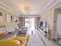 碧水兰庭 3室2厅1厨1卫 110.53m² 精致装修二手房效果图