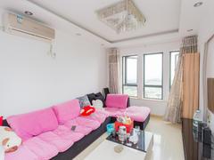 雅戈尔太阳城湖邑 2室2厅1厨1卫 87.0m² 精致装修二手房效果图