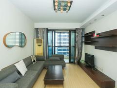 太阳国际公寓 1室1厅1厨1卫 65.0m² 精致装修二手房效果图