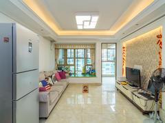 景和园 3室2厅1厨1卫 87.38m² 精致装修二手房效果图