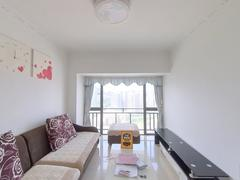 东方明珠城 2室2厅1厨1卫 62.96m² 整租租房效果图