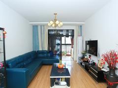 临江花园 2室2厅1厨1卫 106.94m² 普通装修二手房效果图
