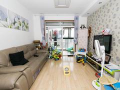 宝业城市绿苑东区 2室2厅1厨1卫 79.5m² 精致装修二手房效果图