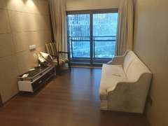 京基滨河时代广场 2室1厅1厨1卫 60.0m² 整租租房效果图