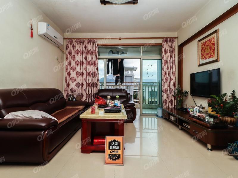 锦冠华城雅景苑二期 精装两房东南向看花园 双阳台