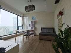 太阳国际公寓 繁华城市中少见的山水景观 视野感官定要眼见为实 租房效果图