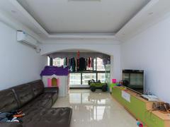 季华金品 2室2厅1厨1卫 81.0m² 精致装修二手房效果图