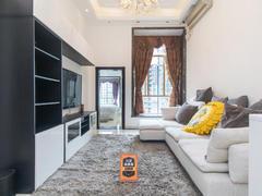 金色都汇 2室2厅1厨1卫69.92m²整租租房效果图